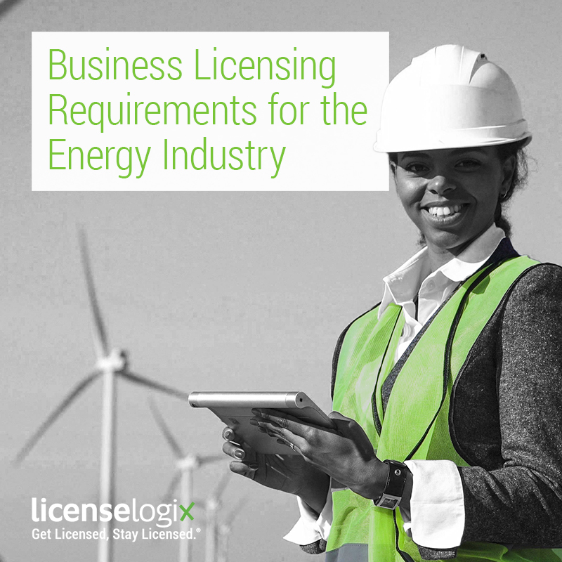 energy industry business licensing