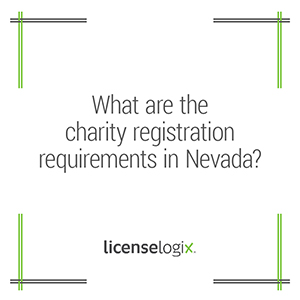 What are the charity registration requirements in Nevada