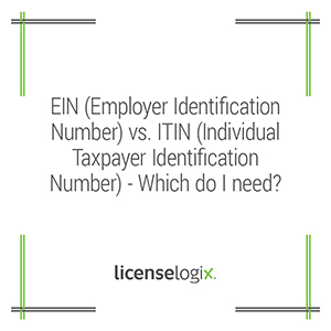 EIN vs ITIN - Which do I need