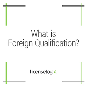What is Foreign Qualification