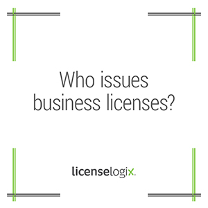 Who issues business licenses