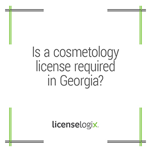 Does Georgia require a cosmetology license