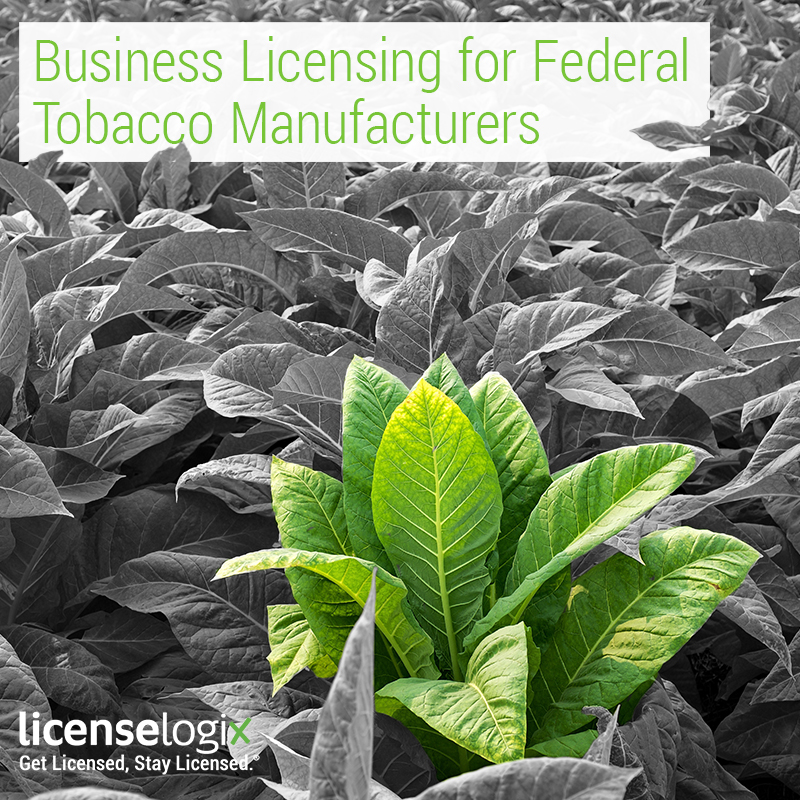 Federal Tobacco License Industry Page